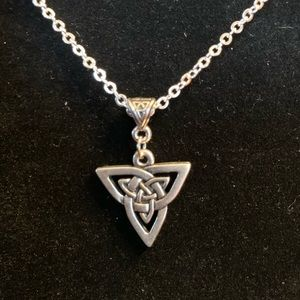 Celtic Knot Necklace. Newly made, never worn.